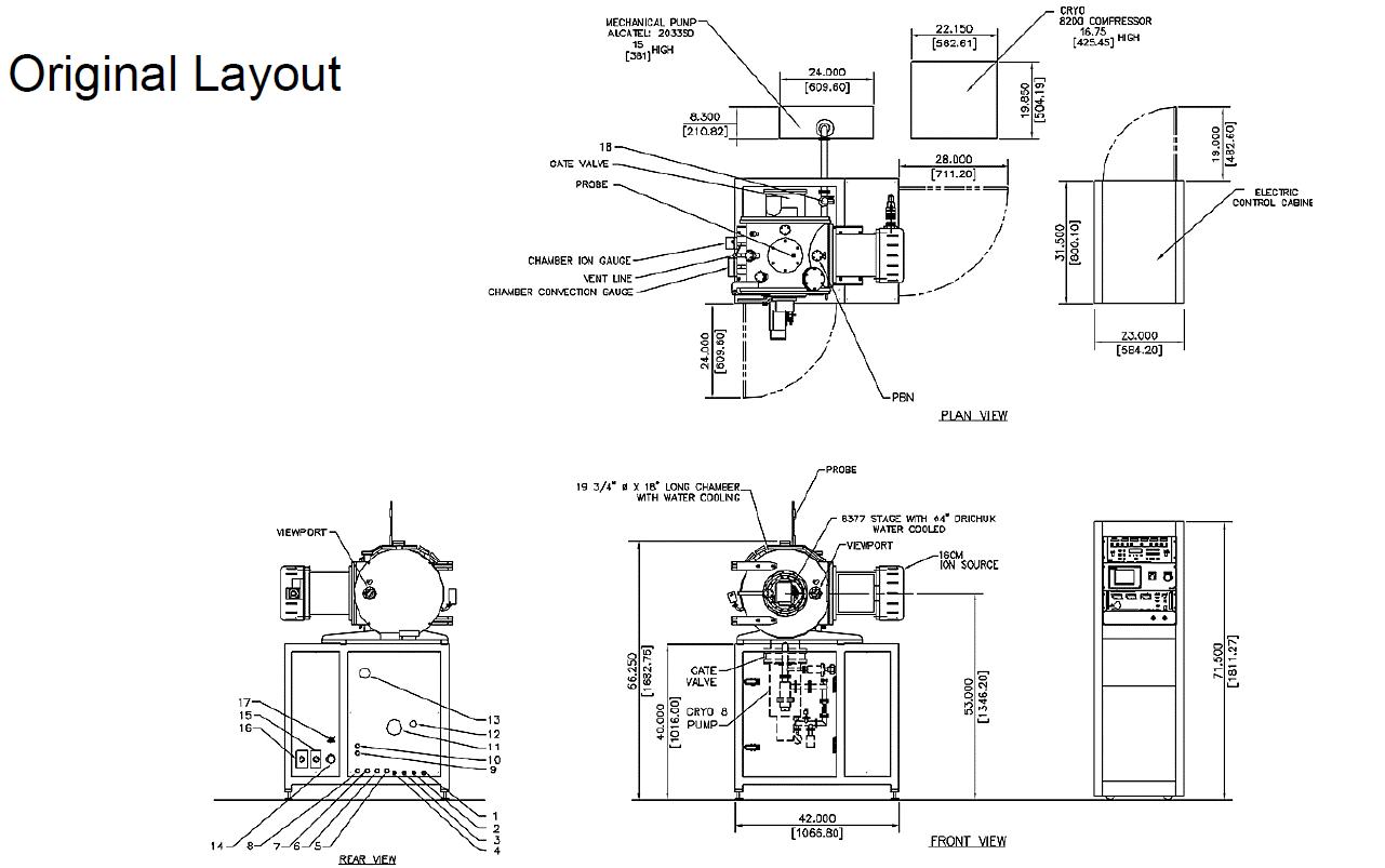 Used Intlvac Nanoquest I